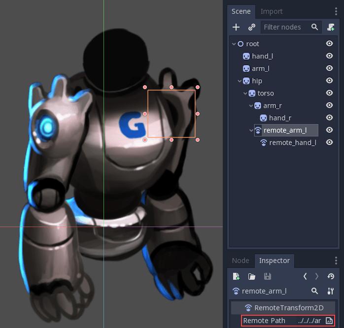Cutout animation — documentación de Godot Engine - latest